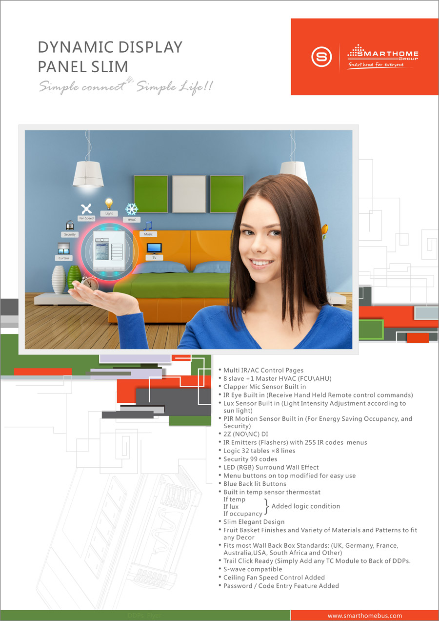 Home Automation System Smart BUS G4 Catalogue amp Flyers