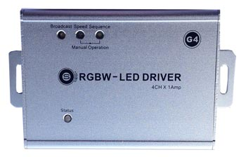 LED Driver/Dimmer 4Ch Bus-Enabled (G4) - SB-4LED-DCV - GTIN (UPC-EAN): 0610696253941