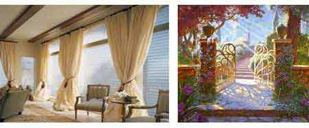 Motorized Drapes Shades and Gates