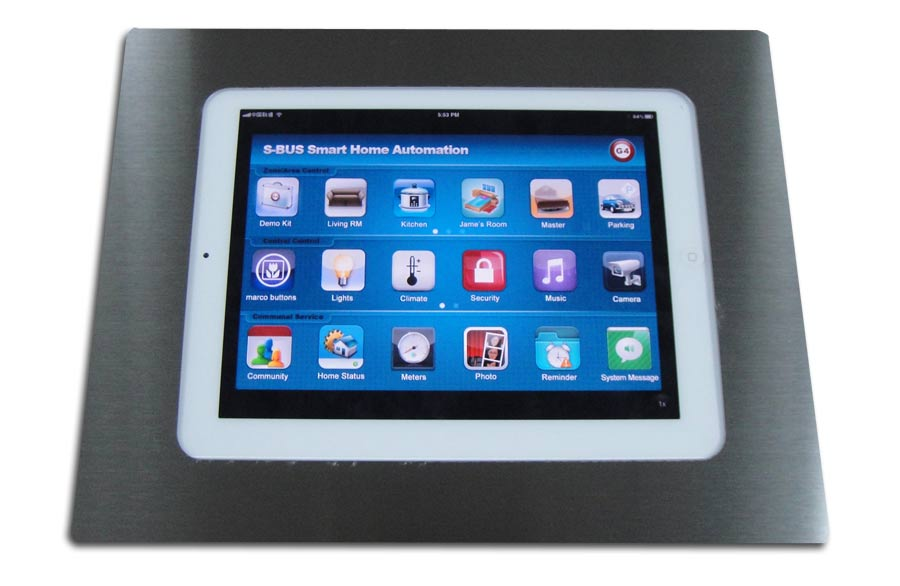 Smartbus Wall Box For Ipad Android With Cover Sb Padbox Wl